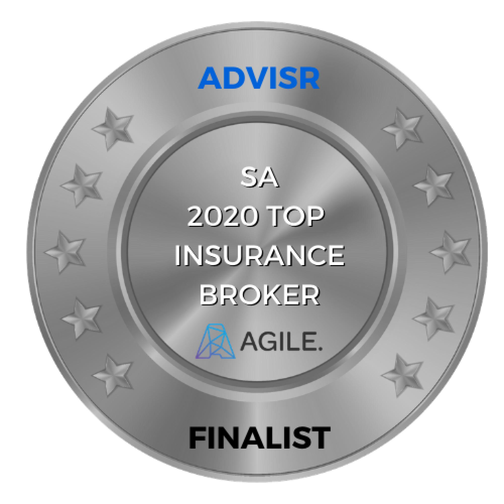 Advisr Insurance Broker Awards 2020 Finalist | South Australia Top Insurance Broker