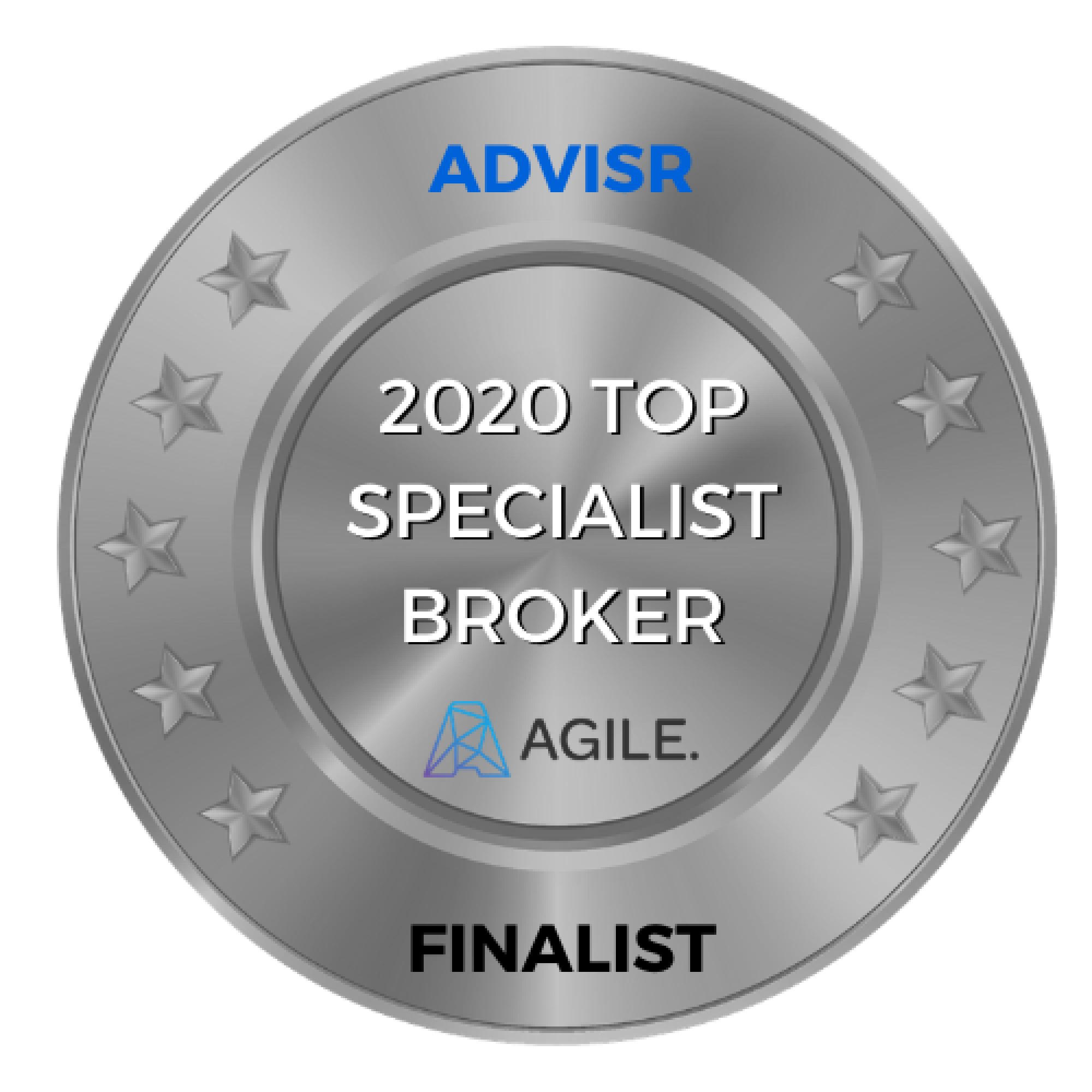 Advisr Insurance Broker Awards 2020 Finalist | Top Specialist Broker
