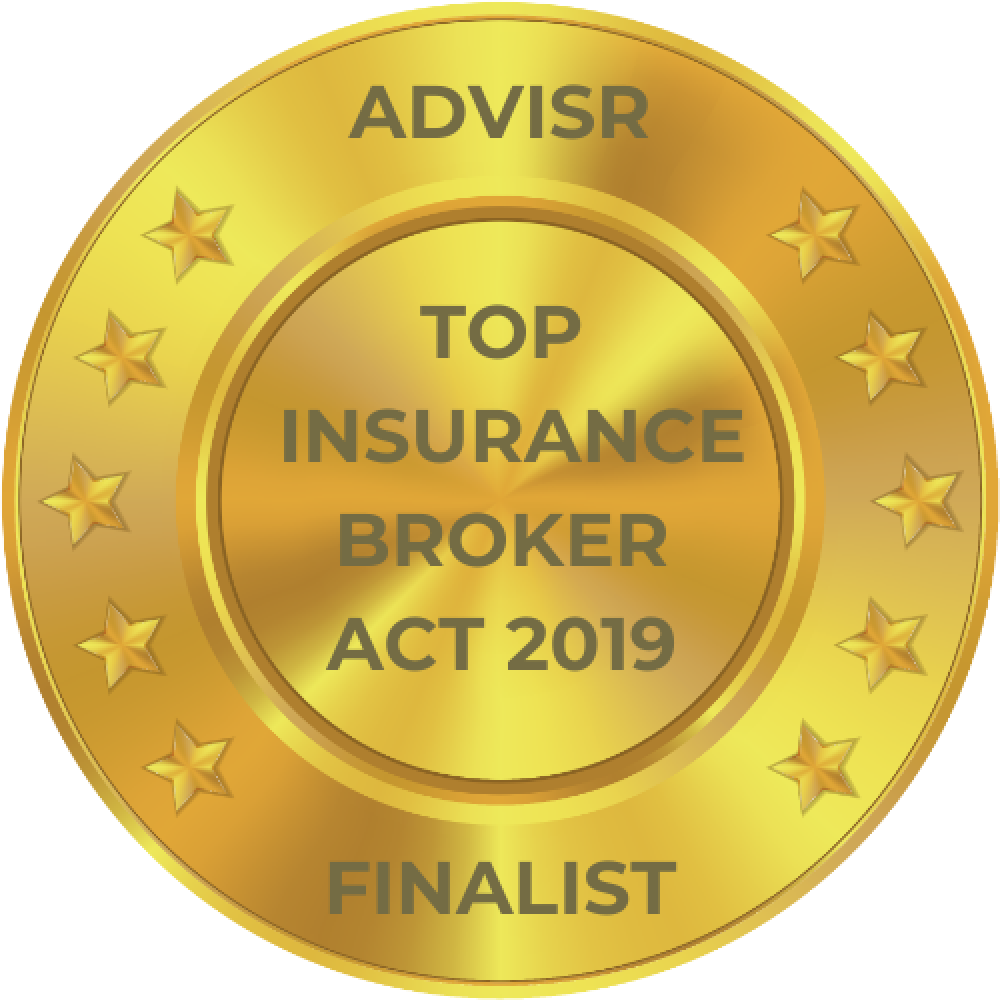 Advisr Insurance Broker Awards 2019 Top Australian Capital Territory Insurance Broker