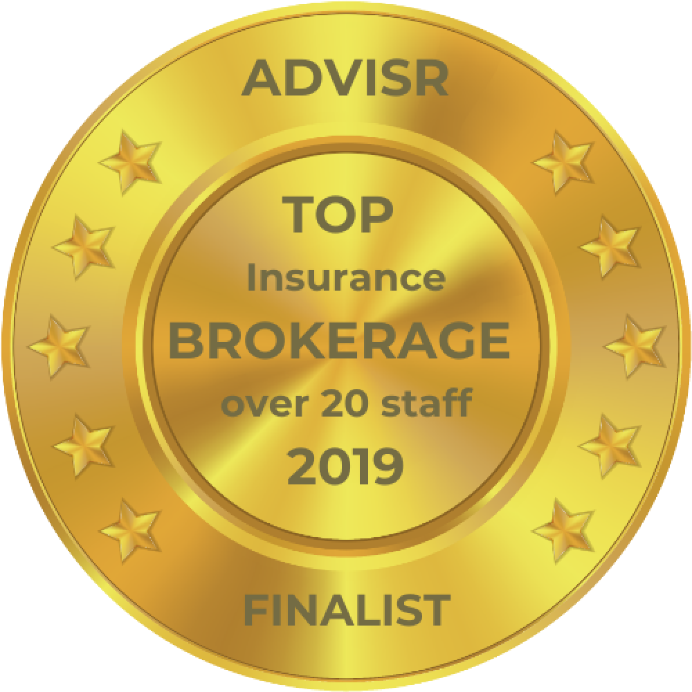 Advisr Insurance Broker Awards 2019 Top Brokerage >20 staff