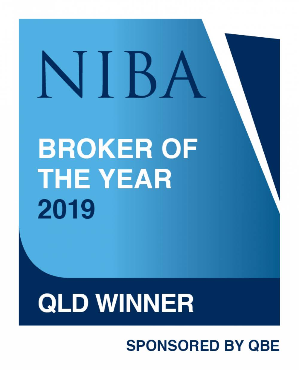 2019 NIBA QLD Broker of the Year