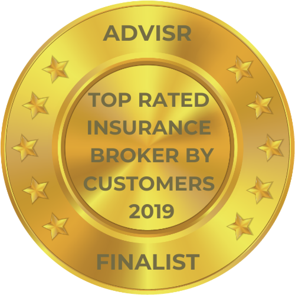 Advisr Insurance Broker Awards 2019 Top Rated by Customers