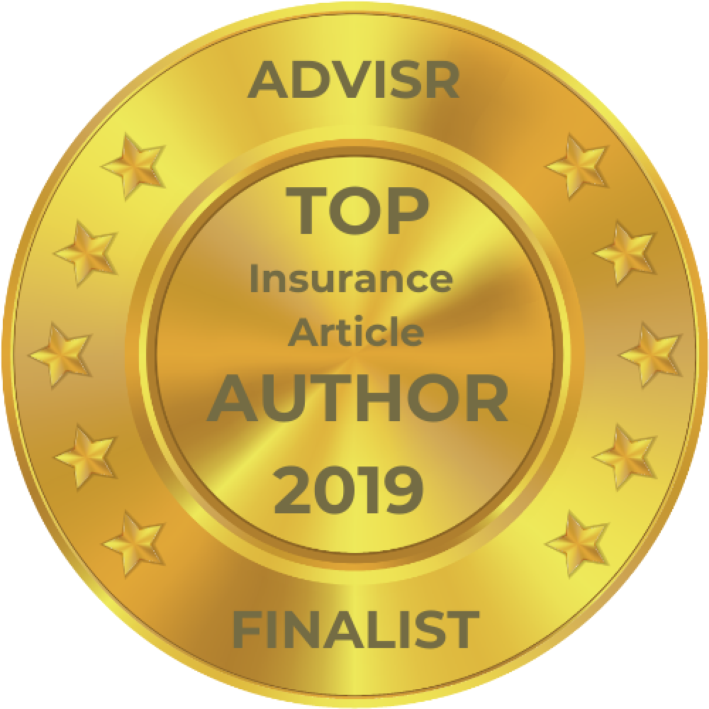 Advisr Insurance Broker Awards 2019 Top Article Author