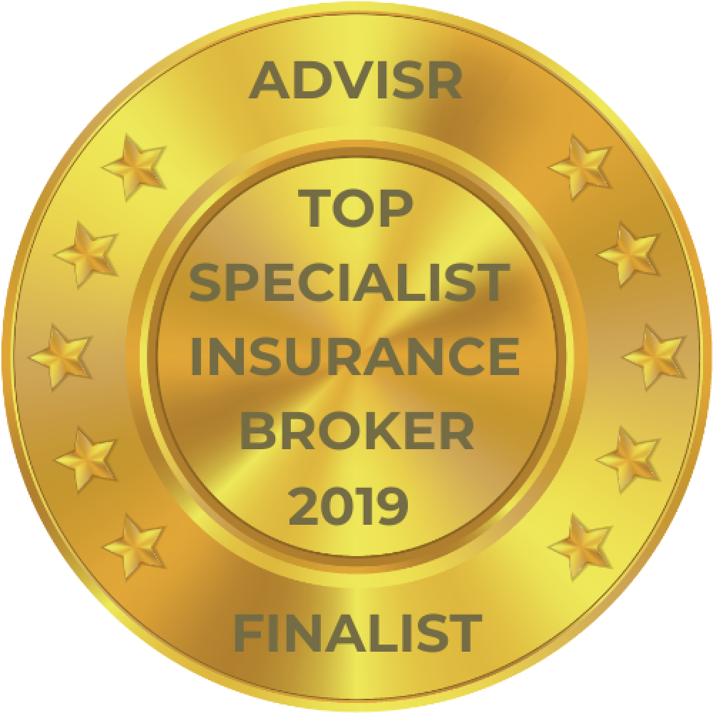 Advisr Insurance Broker Awards 2019 Top Specialist Broker