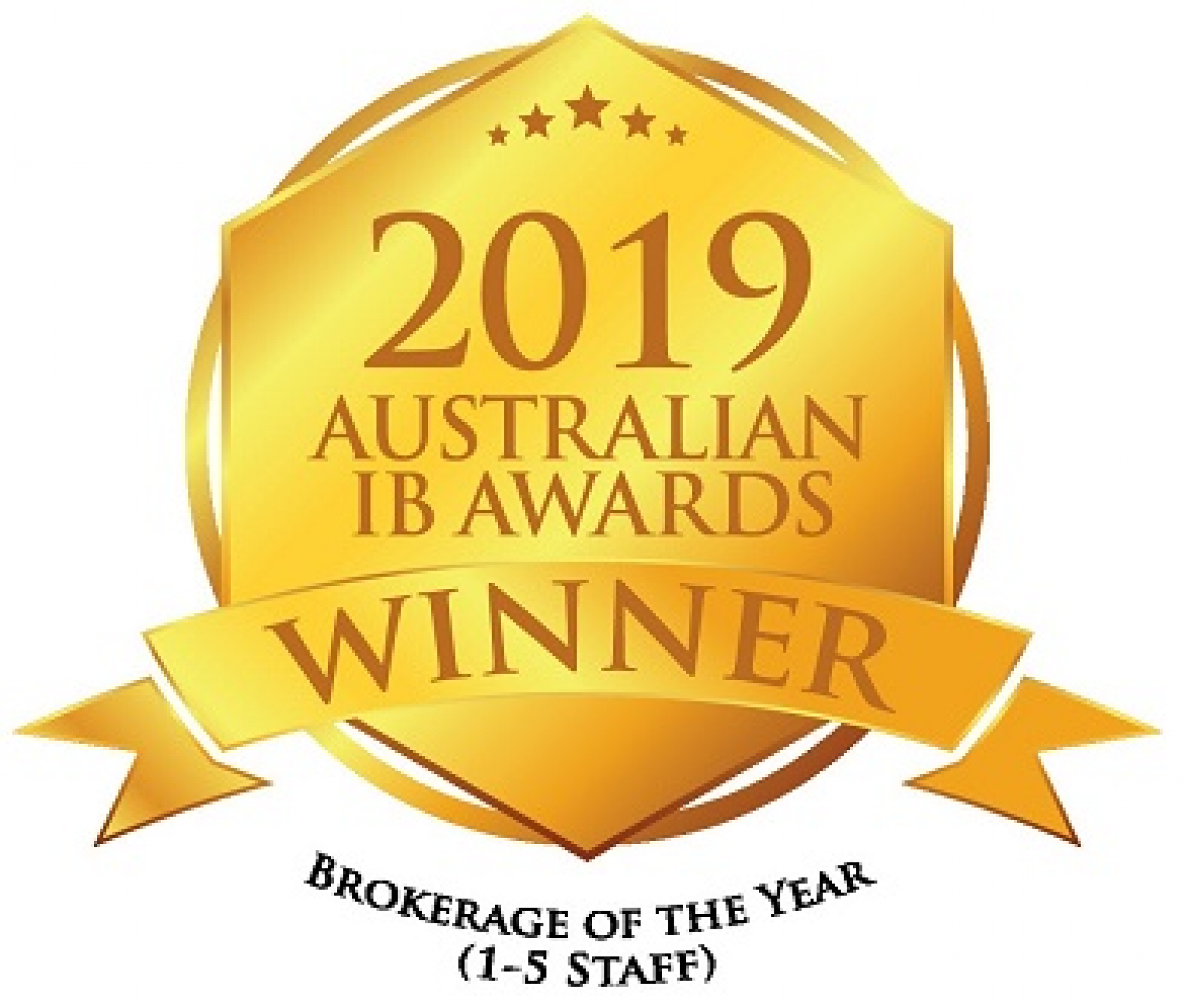 2019 Insurance Business Awards Winner - Brokerage of the Year (1-5 Staff)