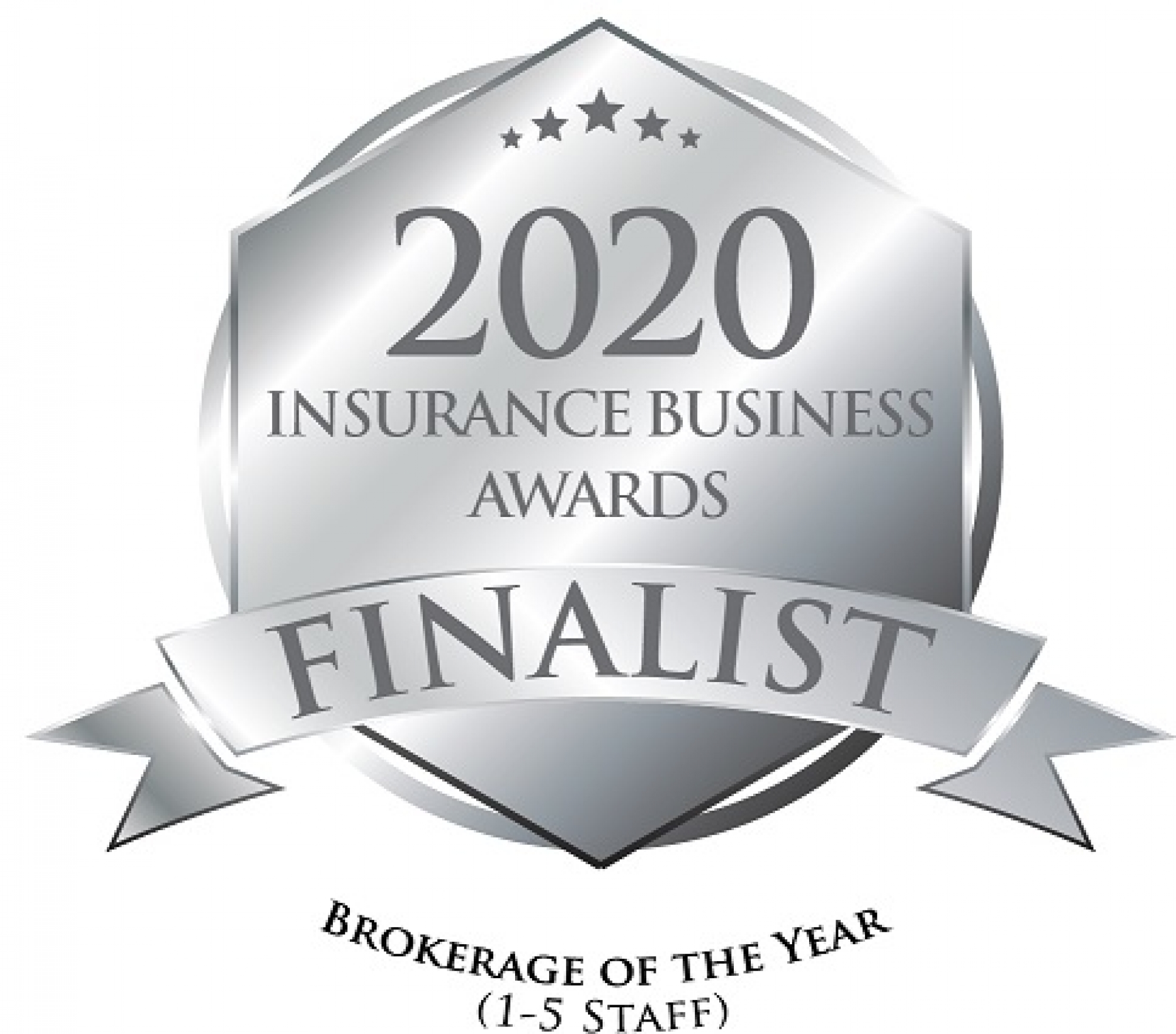 2020 Insurance Business Awards Finalist - Brokerage of the Year (1-5 Staff)