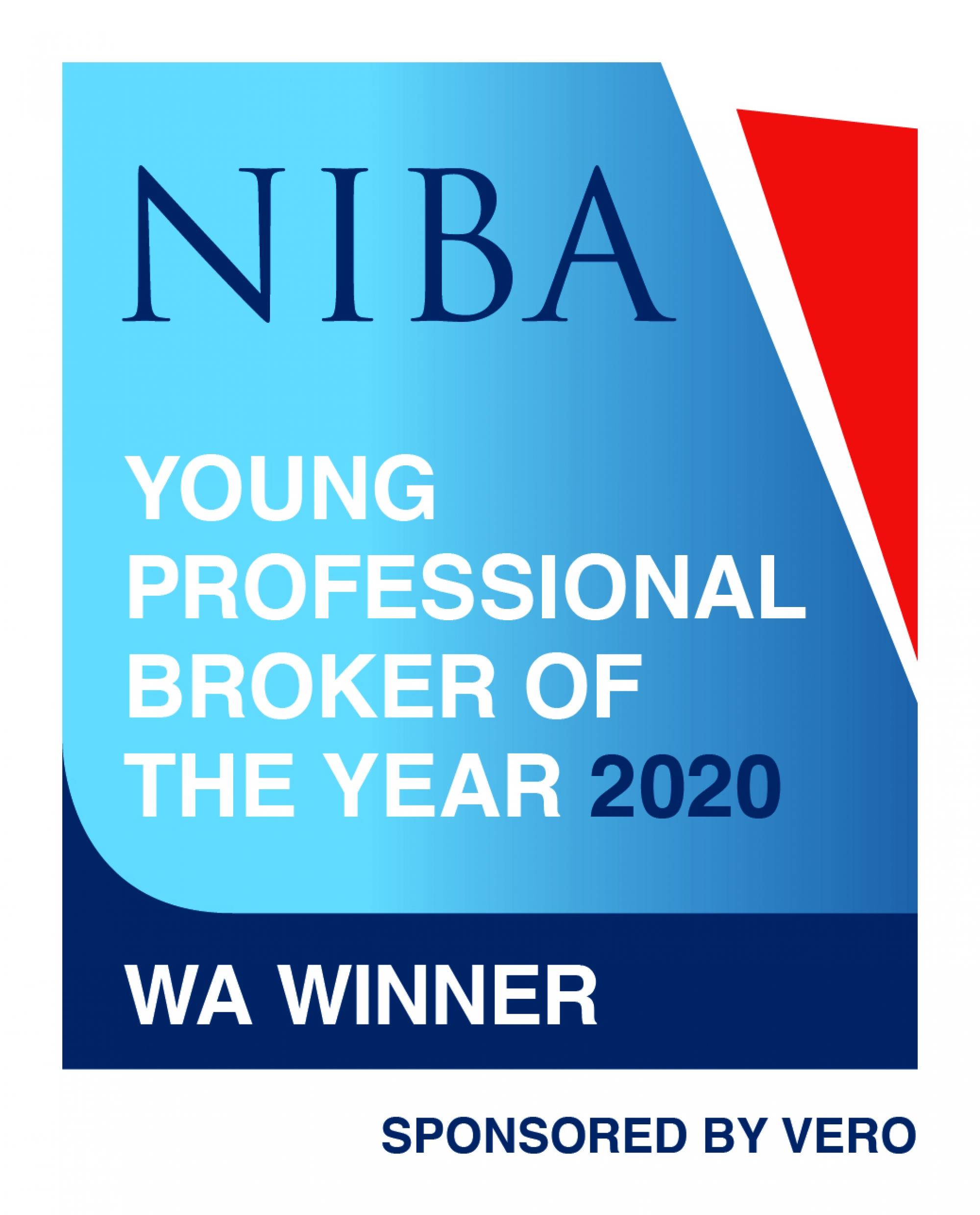 NIBA WA Winner - Young Professional Broker of the Year 2020