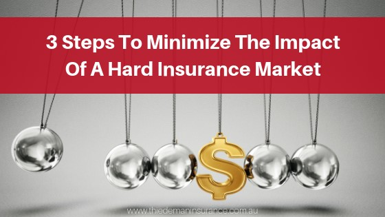 3 Steps To Minimize The Impact Of A Hard Insurance Market