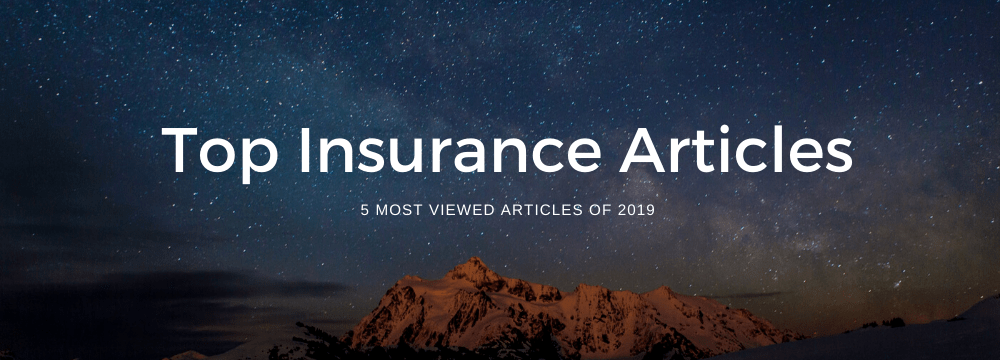 Top Insurance Articles 2019