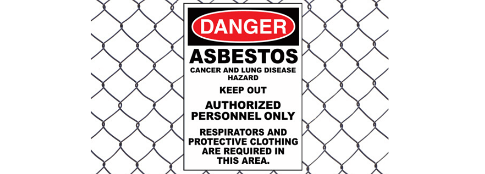 Asbestos! The danger is all around
