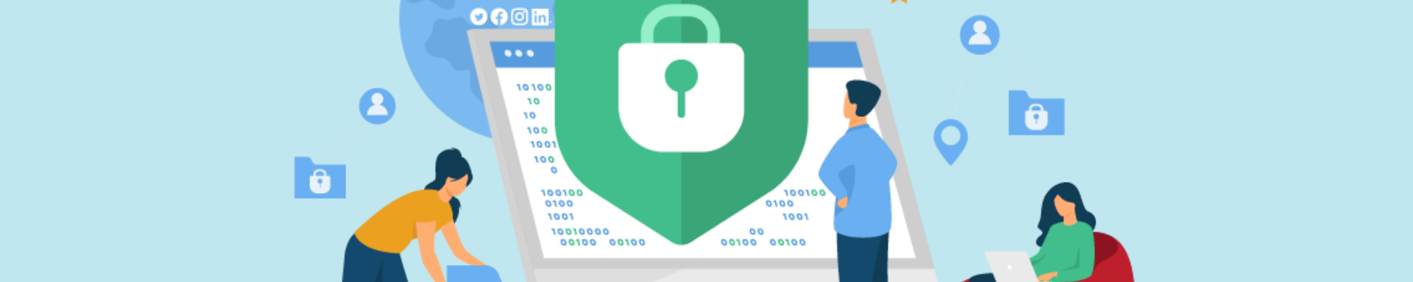 Making sure your business is social media secure