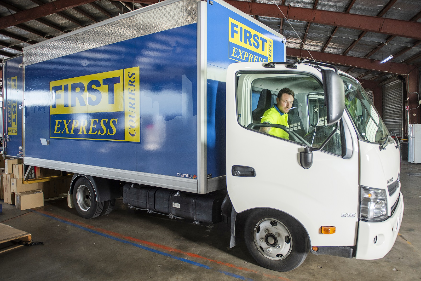 Client Testimonial - First Express Couriers